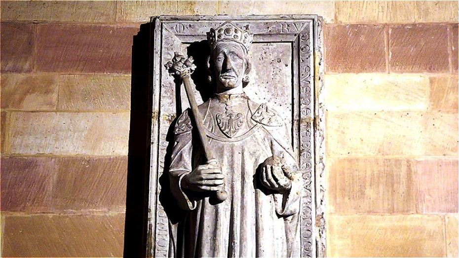 Grabplatte Rudolfs von Habsburg