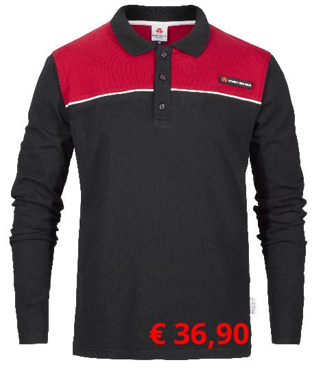 Bequemes Poloshirt. Ideal für  Arbeiten im Freien. Material:  100% Baumwolle.  Artikelnummer: X993310023 € 36,90  Größen: S-XXL