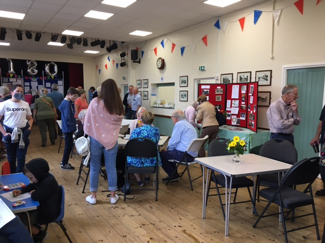 Many visitors enjoyed looking at all the exhibits 04.09.21