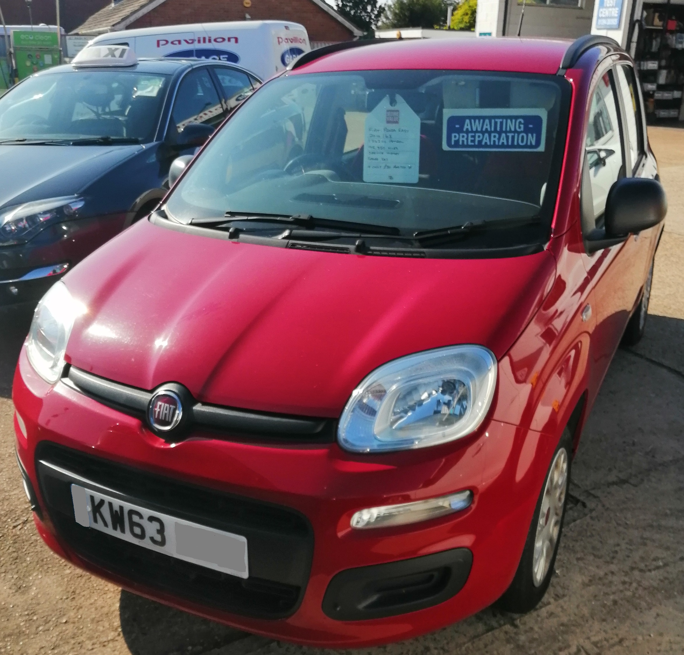 Fiat Panda Easy 1242cc - Petrol 2014 / 63 95,350 miles Service History Spare Key *** ONLY £30 per year Road Tax £3495  E10 Fuel Compliant