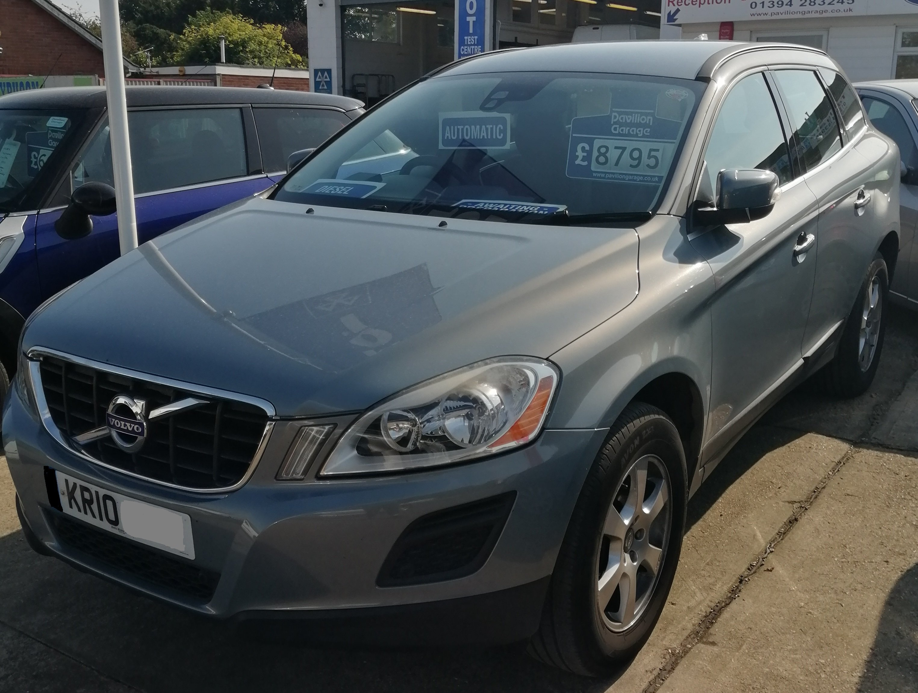 Volvo XC60 SE AWD D5 Auto Automatic 2400cc - Diesel 2010 / 10 95,400 miles Full Service History Cam Belt Replaced Spare Key £260 per year Road Tax £8795  Awaiting Preparation