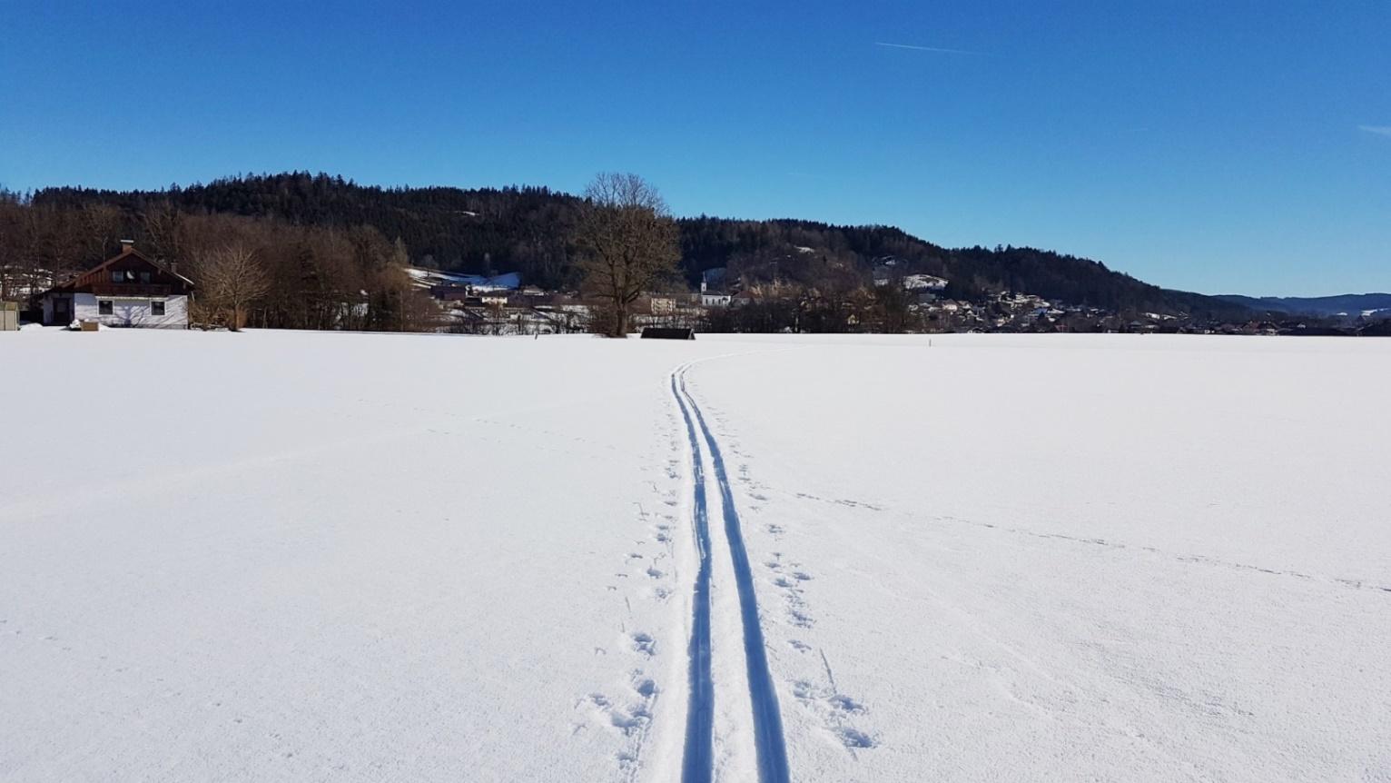 Es geht in Richtung Friedburg