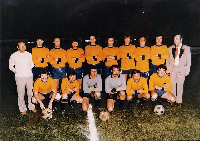 Freundschaftsspiel im Stadio Comunale Lignano gegen Stadtauswahl von Lignano