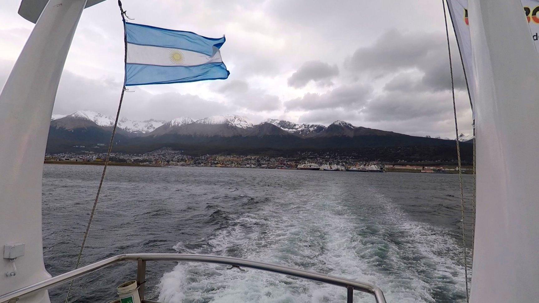 Wir lassen Ushuaia hinter uns