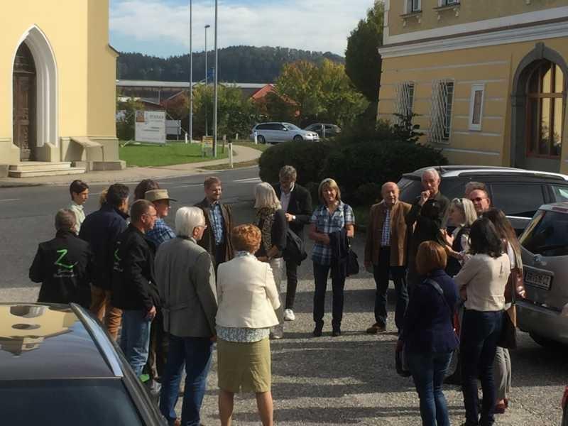 Zeitbanktreffen am 6. Oktober in Eggelsberg. Wir werden immer mehr!