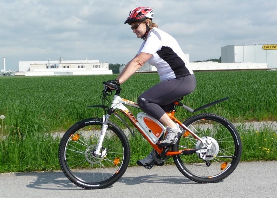 Testfahrt - mein erstes E-Bike
