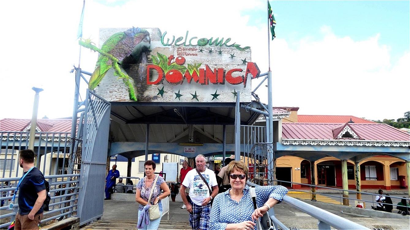 Landgang auf Dominica
