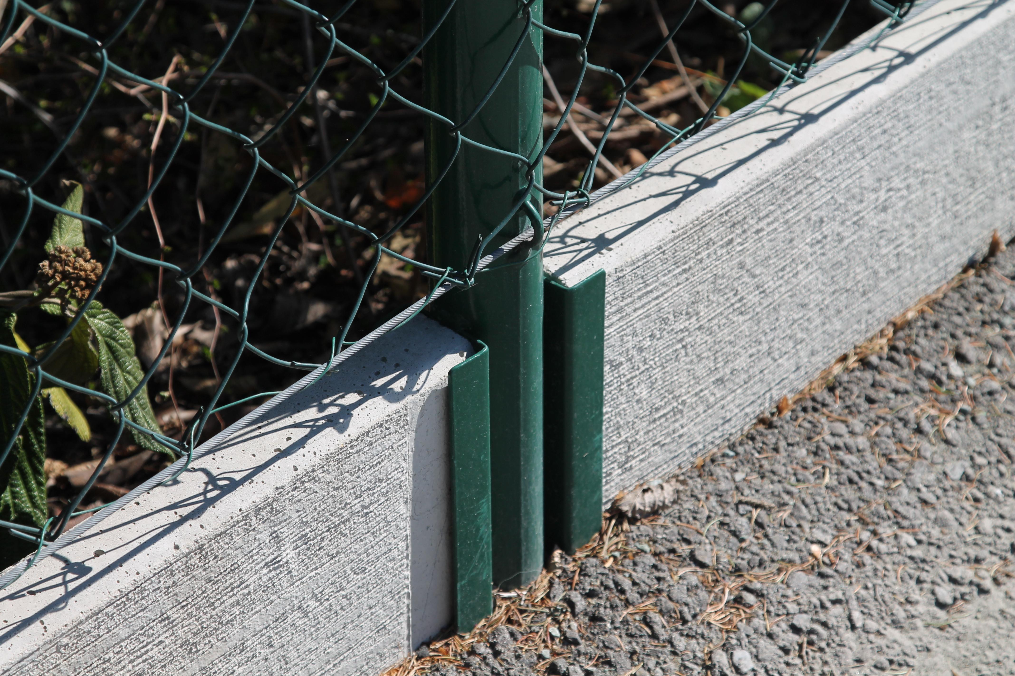 Securo System Garten  - mit Betonsockelbrett