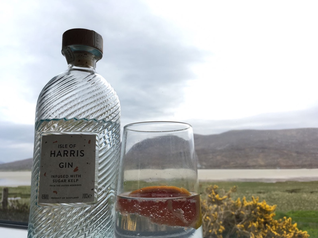 Isle of Harris Gin - delicious
