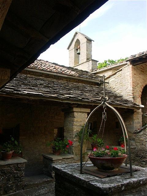 Die Einsiedelei wird das Kloster von einigen Franziskanern bewohnt und steht Besuchern offen