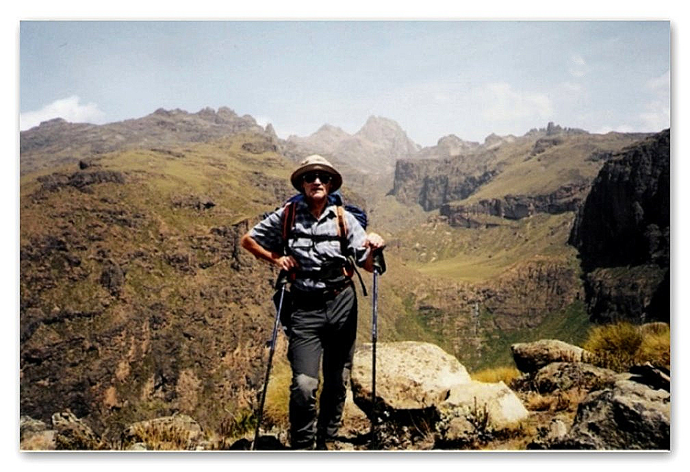 Auf dem Plateau vor dem Mt.Kenia