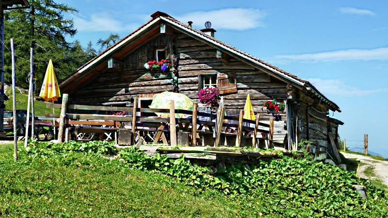 Zwieselalm Hütte (1.436 m) inmitten traumhafter Natur