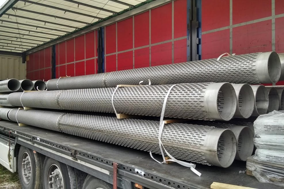 Vodnjaške cevi 323,9 x 7 mm, inox 304