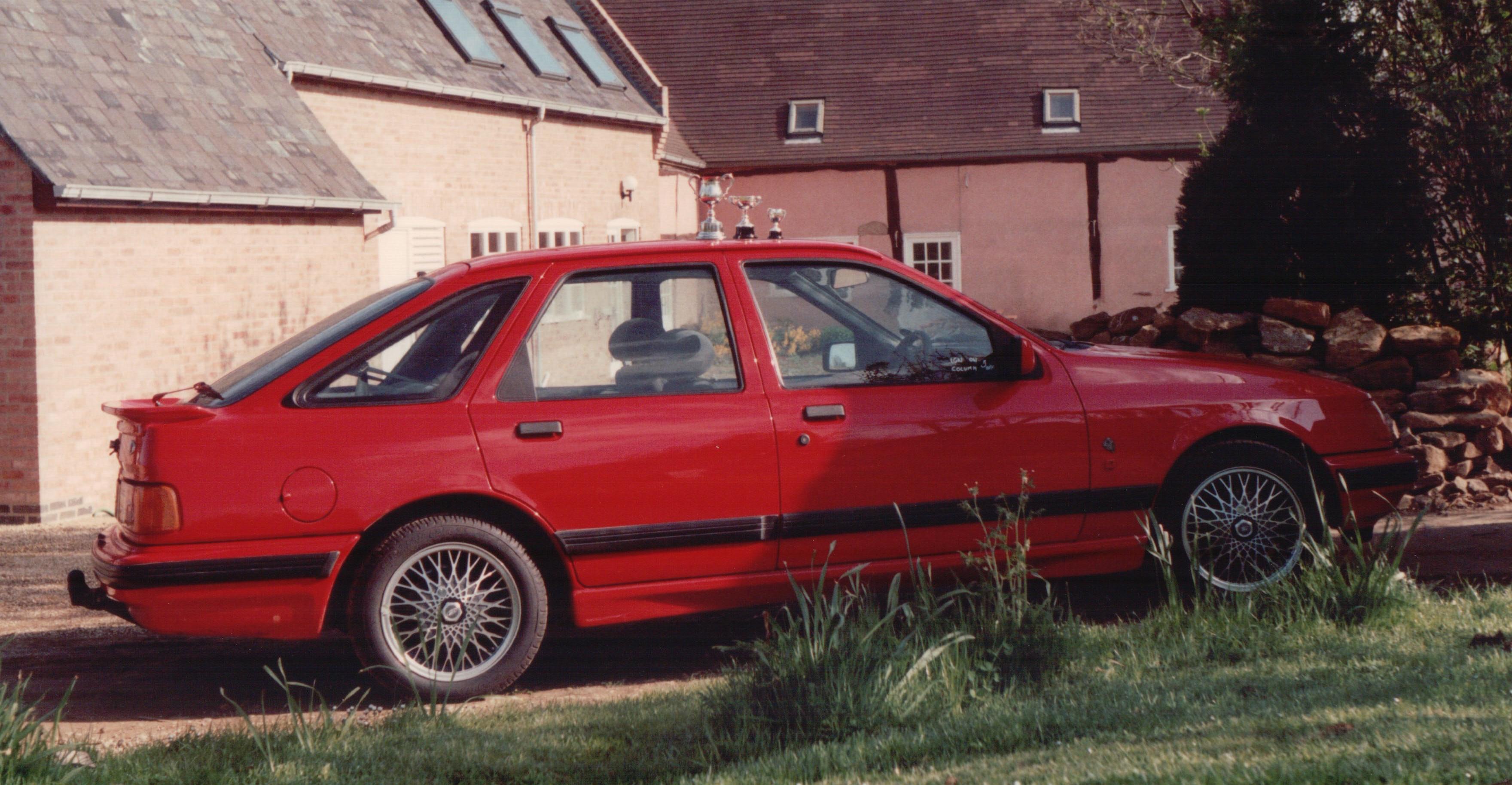 Ford Sierra XR4X4 twin turbo, Slawston 1987