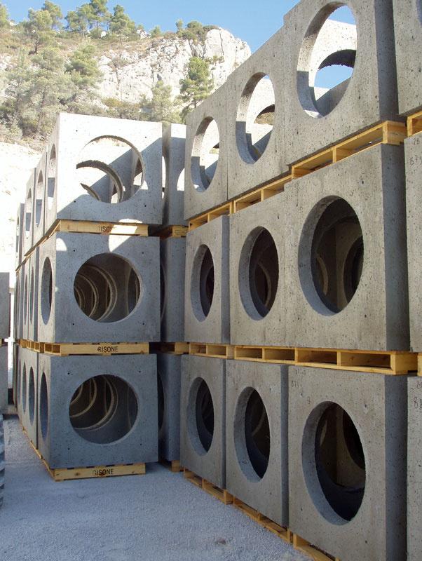 8-Stock de module cubique