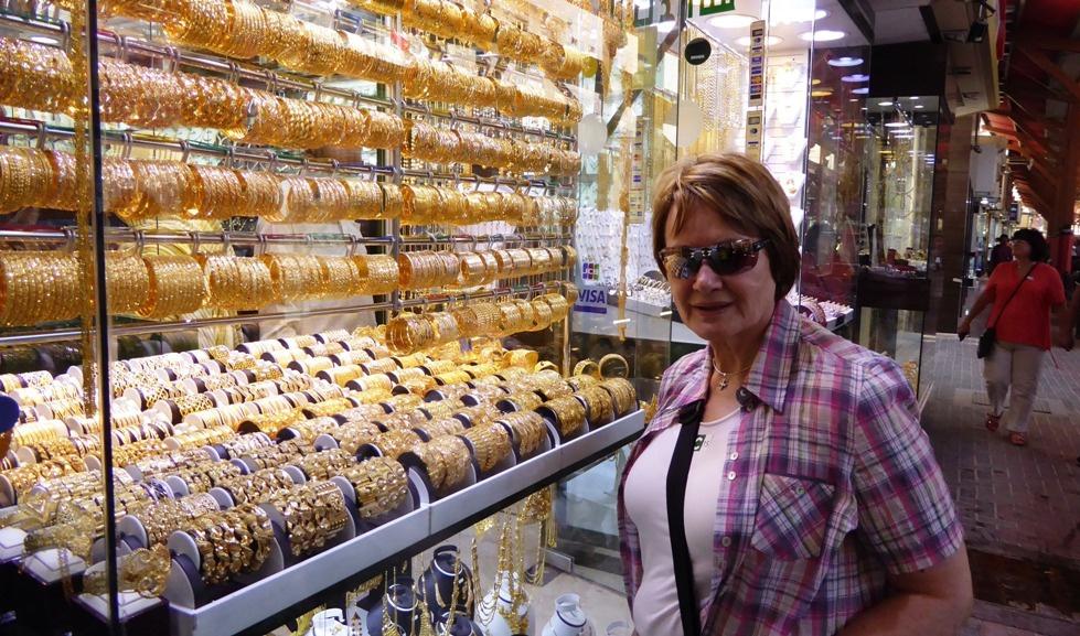 """In der """"City of Gold"""" im Stadtteil Deira"""