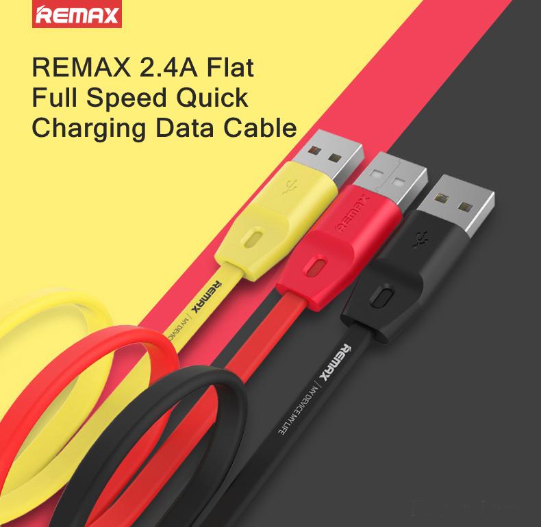 REMAX Data Cable Flat Ρωτήστε μας για τιμή