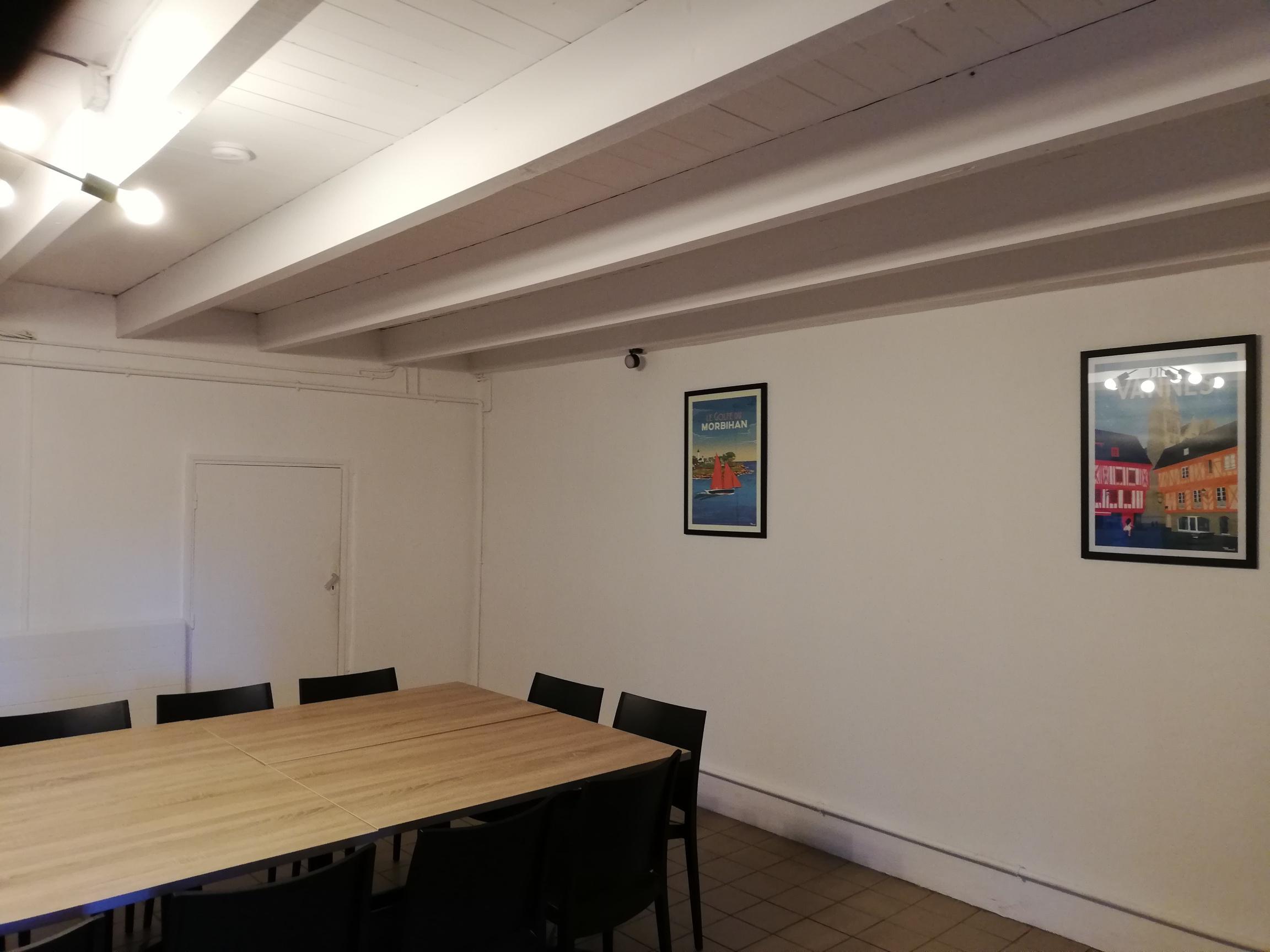 Salle à manger - gîte 12 couchages