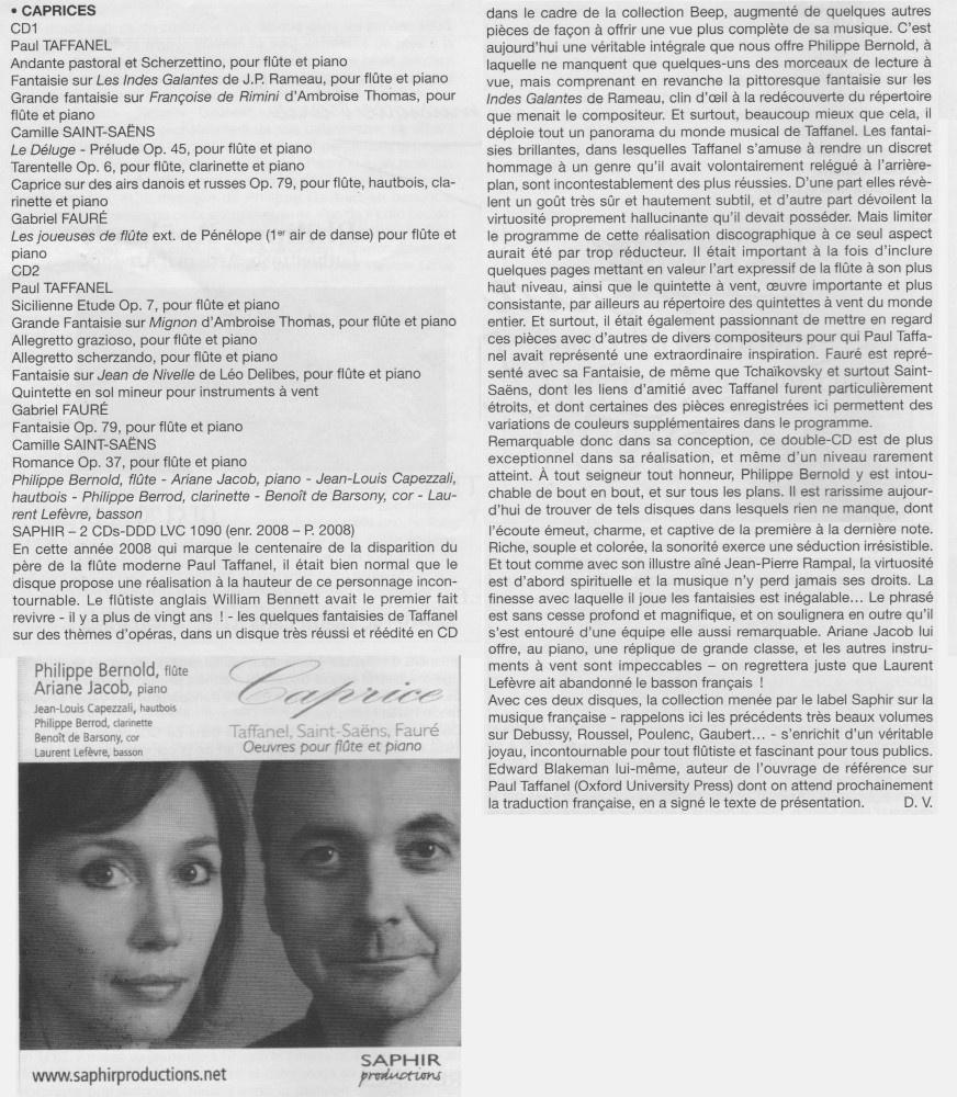 Traversière magazine