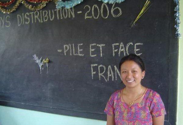 Yangpa, notre correspondante au Népal