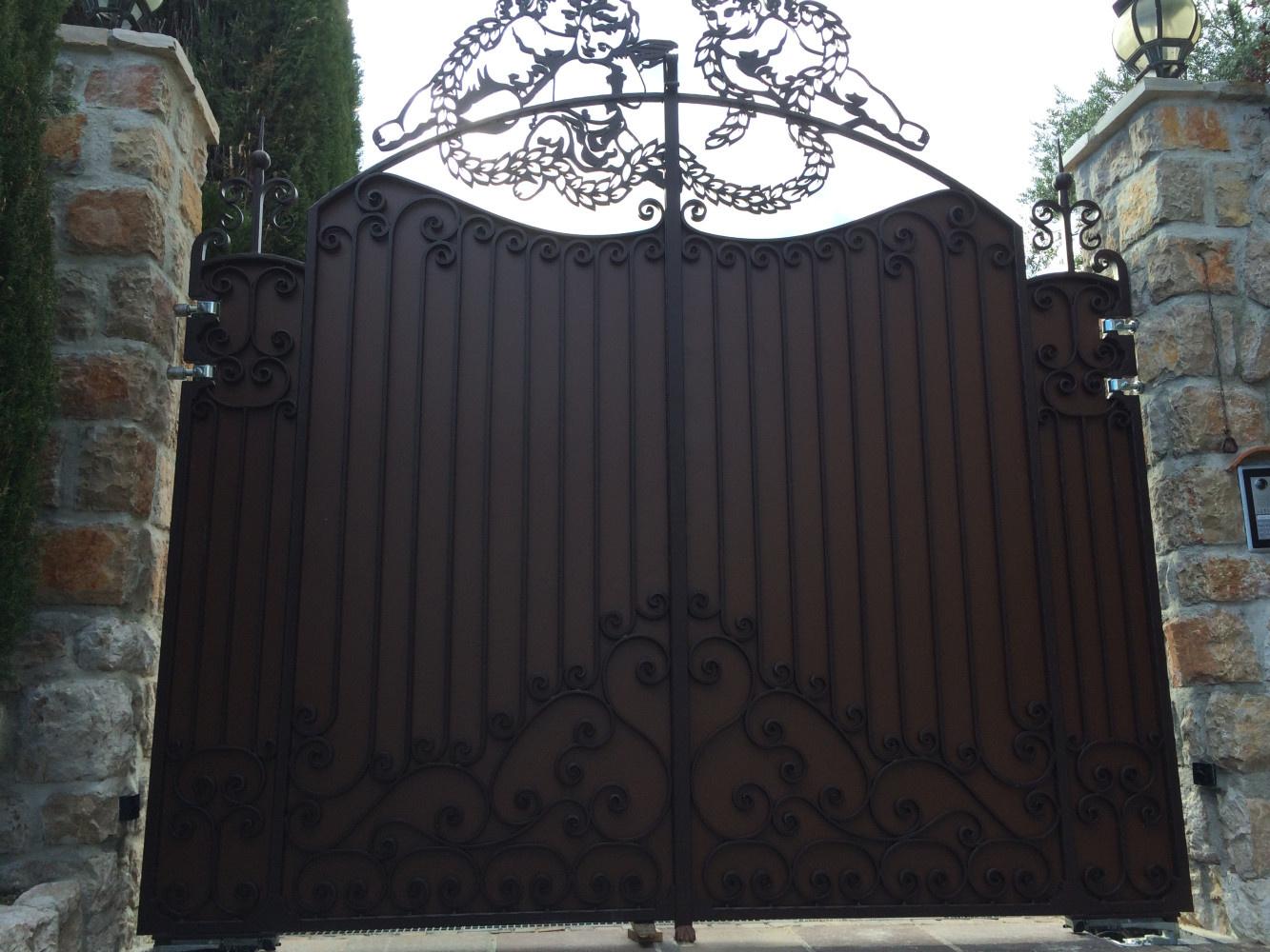 Portail villa l Île aux Anges