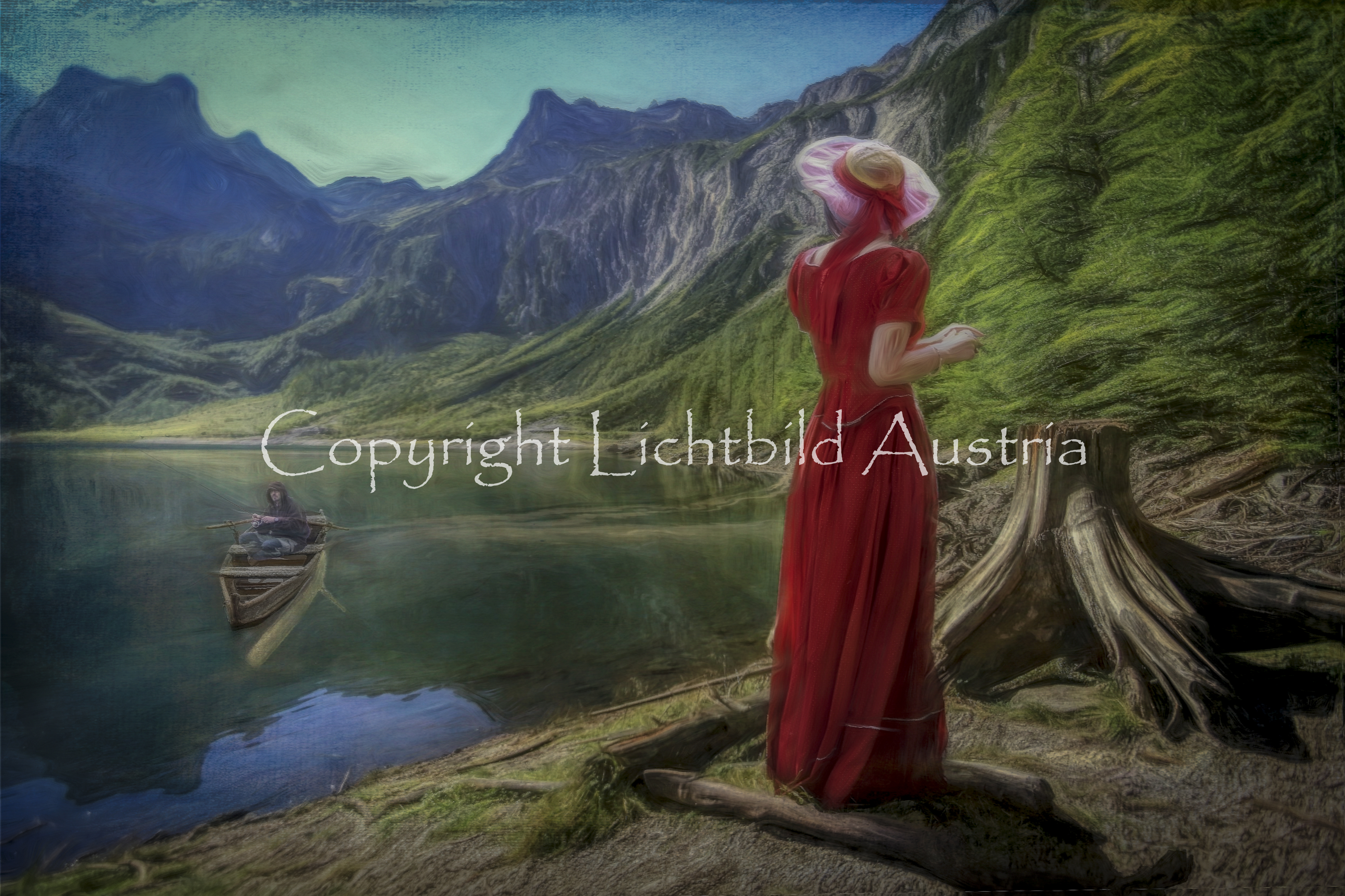 Der Fischer vom Bergsee