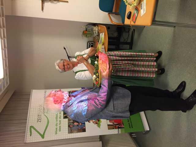 Auserlesene Hildegard von Bingen Produkte für Siegrid als Dankeschön für ihre Hilfe.