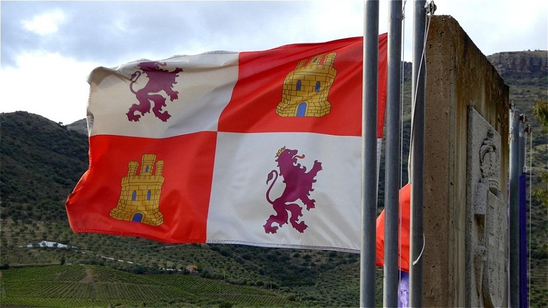 Flagge von Kastilien und Leon