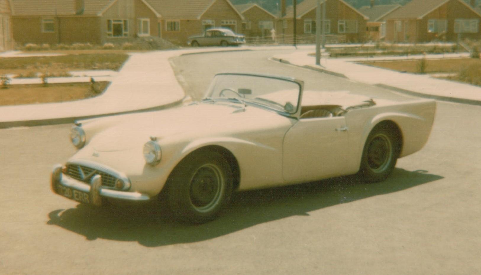 1959 Daimler SP250, Nottingham, 1969