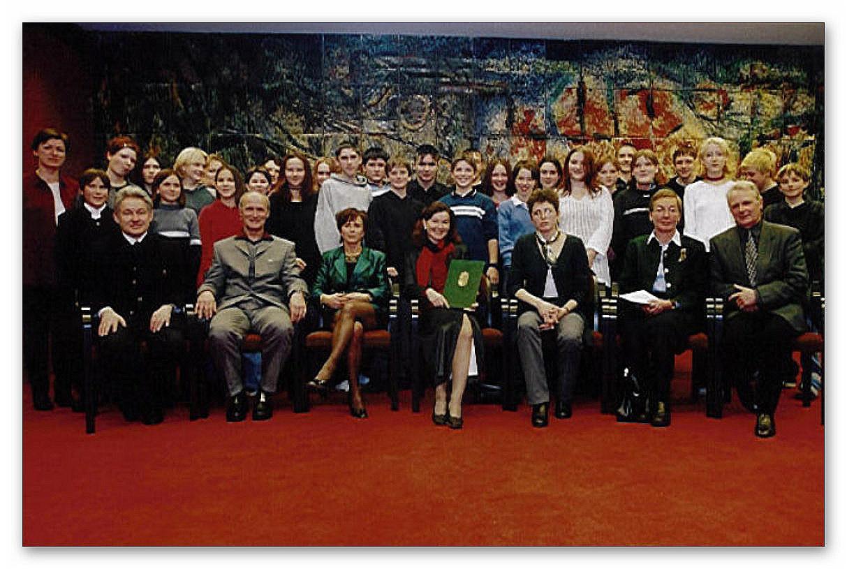 Verleihung des Menschenrechtspreises - Land OÖ durch LH Dr. Josef Pühringer