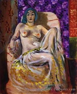 PEINTURE: le genou levé Henri Matisse