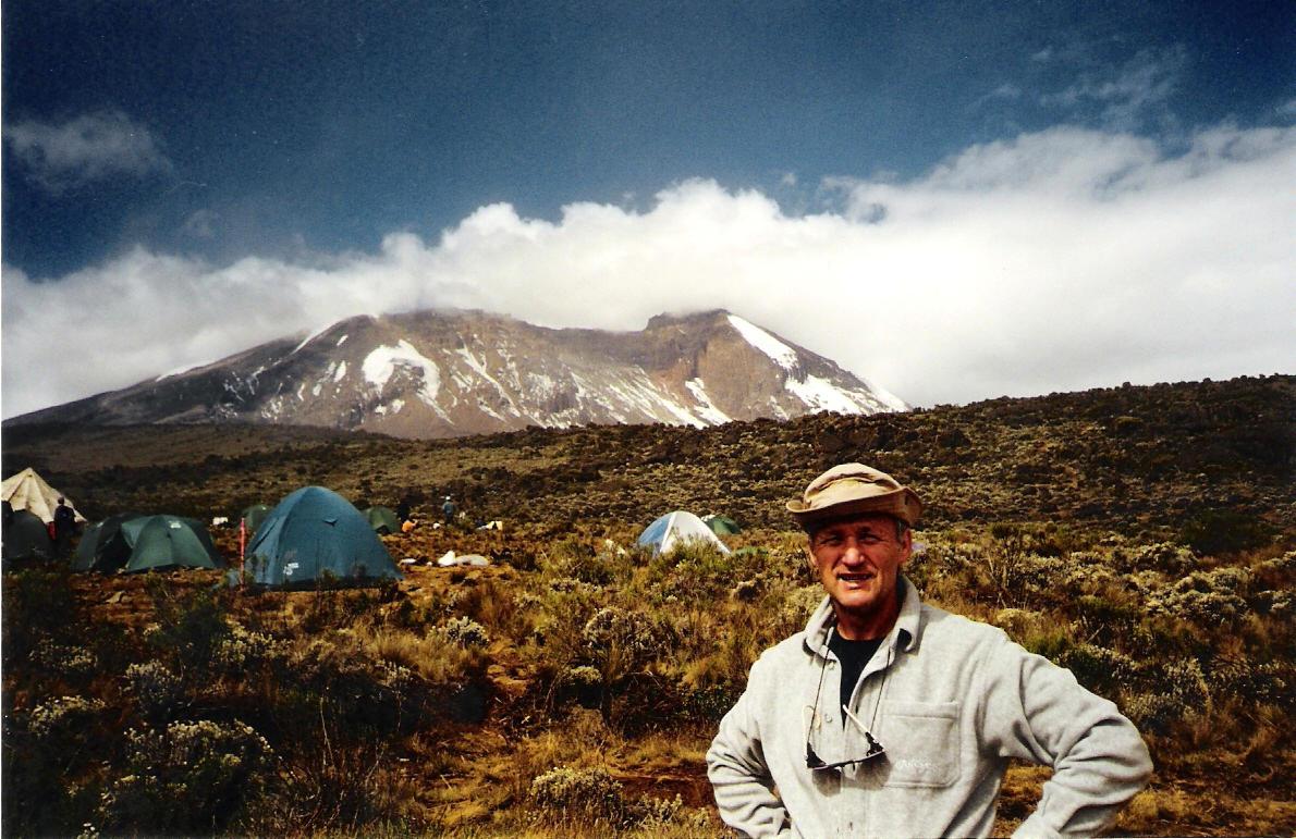 Shira Camp 3.500 m mit Kili