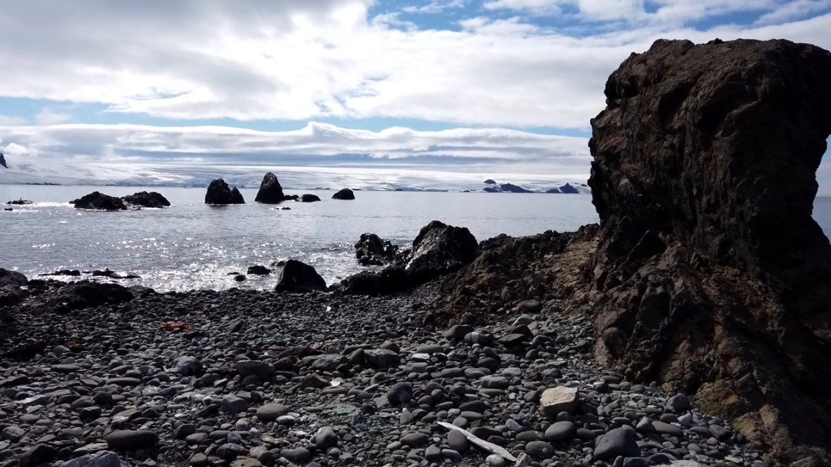 Reste vulkanischer Tätigkeit