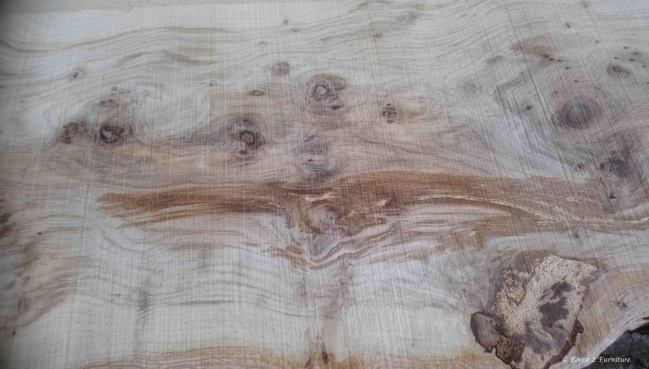 Figured Oak grain