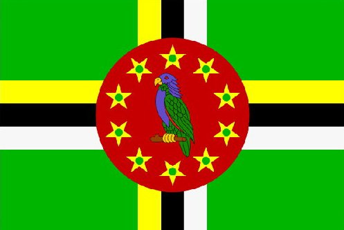 Flagge Dominicas