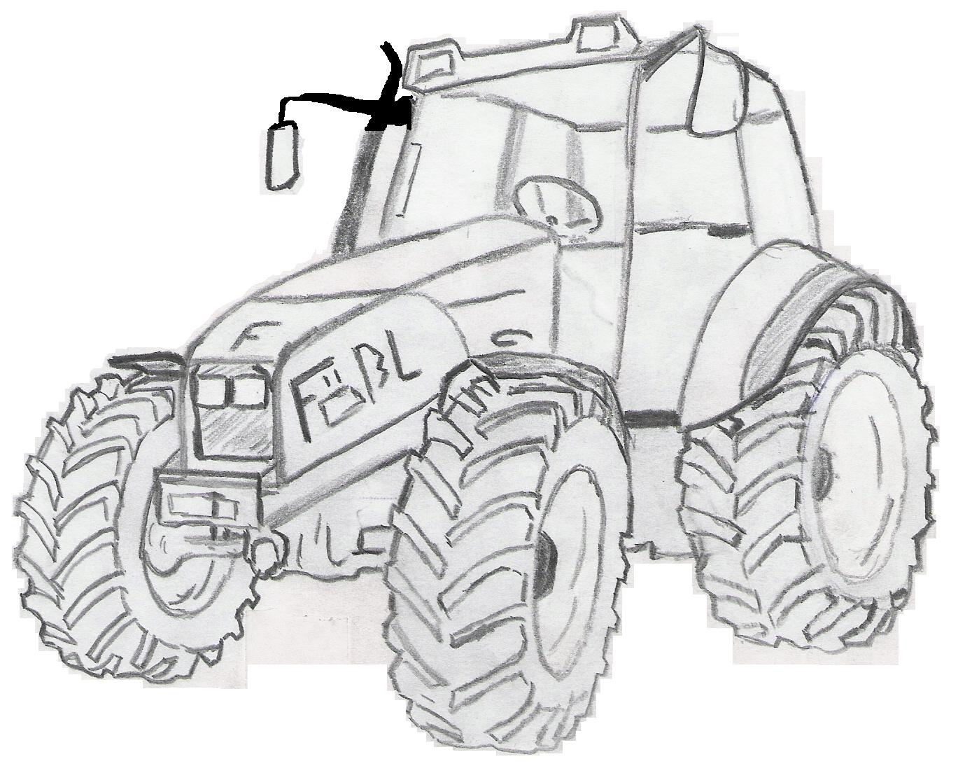 Testtraktor 12345,-