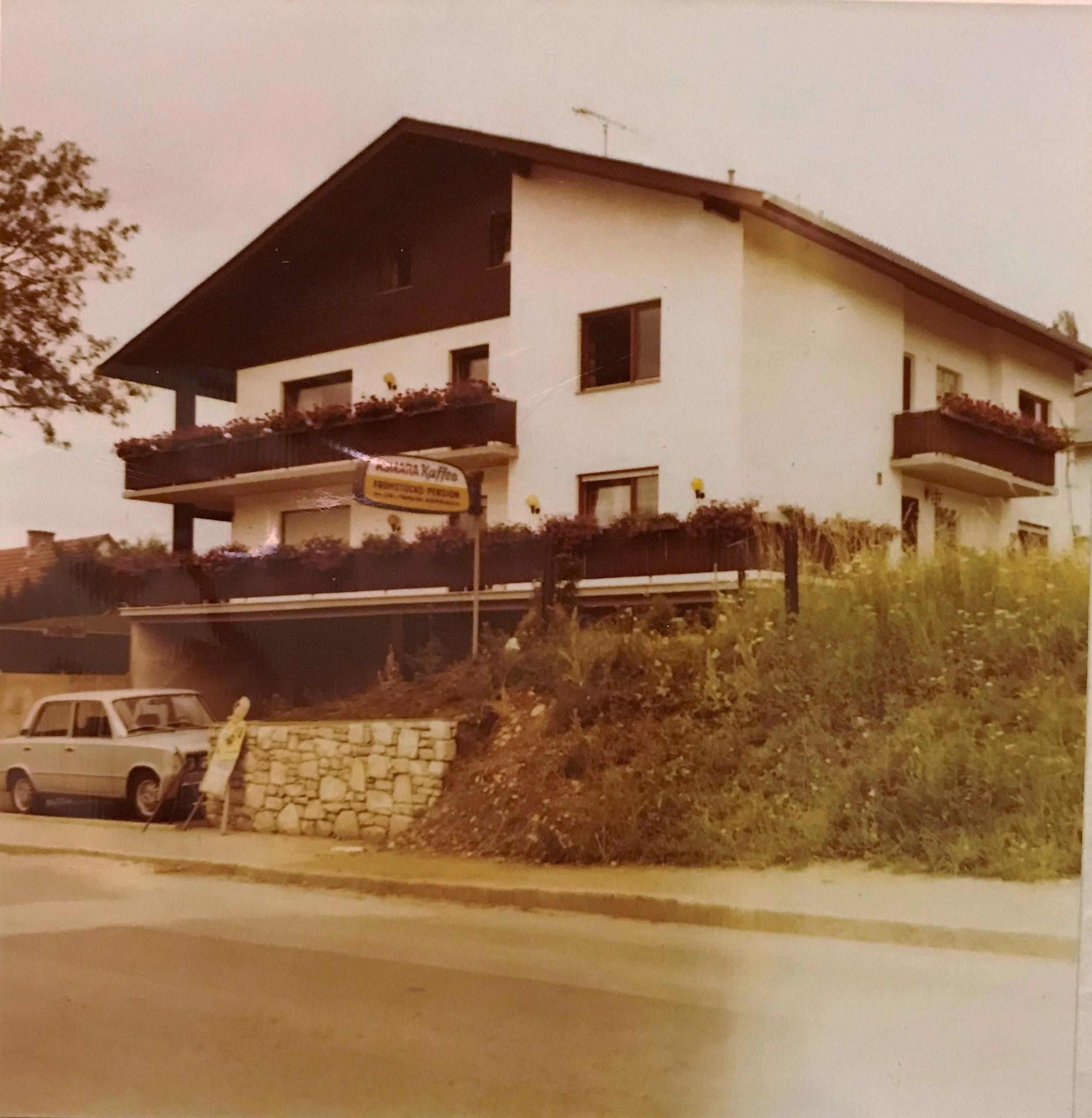 Pension Traude im Jahr 1973
