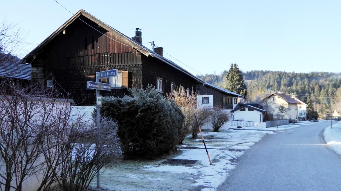 """Schneegattern, Ortsteil """"Alte Hütte""""  2019"""