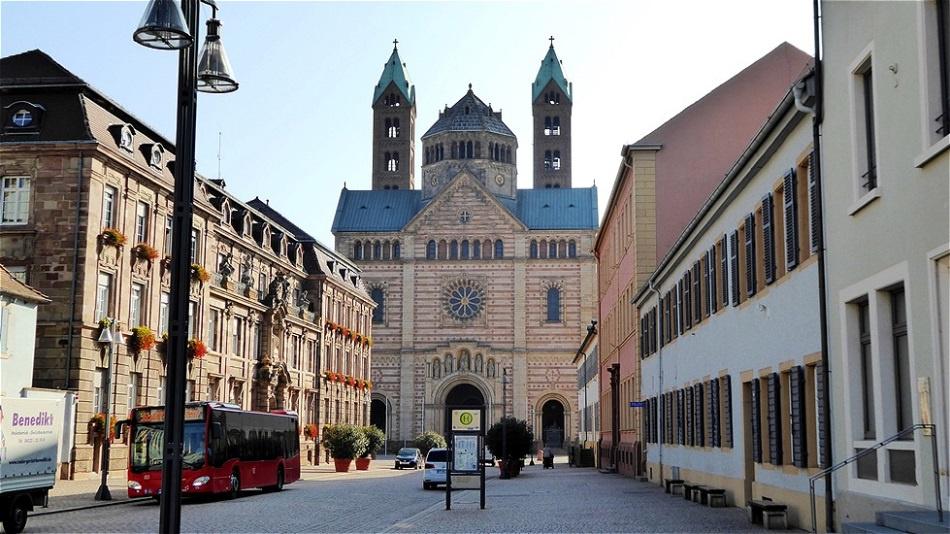 Westansicht - Dom von Speyer