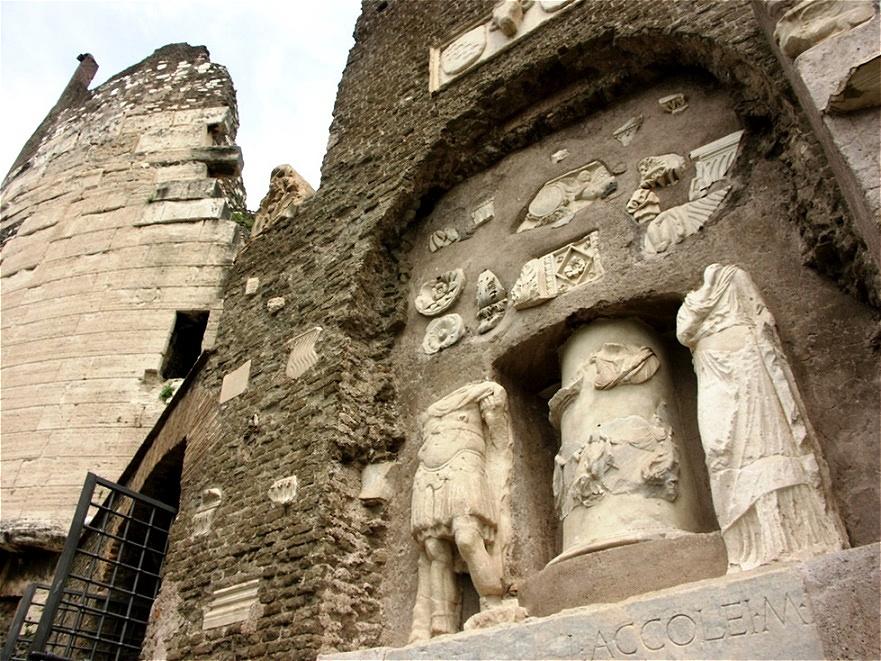 Mausoleum einer reichen Römerin
