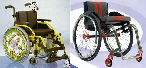fauteuils roulants actifs légers