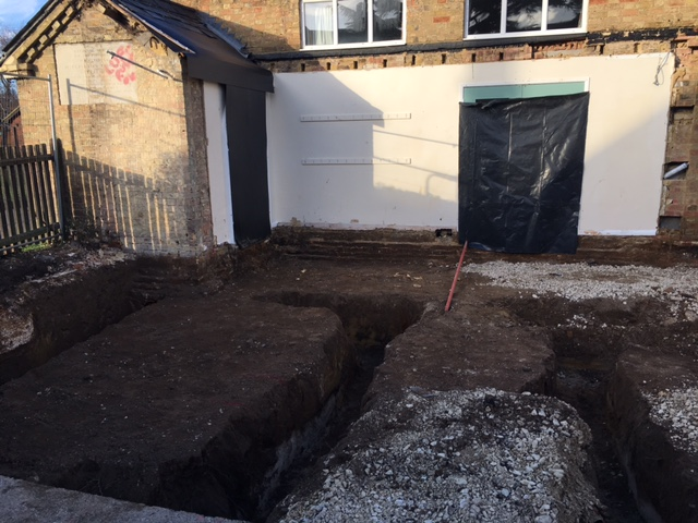 Trenches have been dug 25.02.21