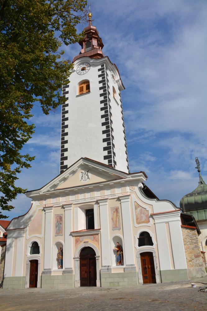 Obnovljena šmarska cerkev Foto: Brane Petrovič