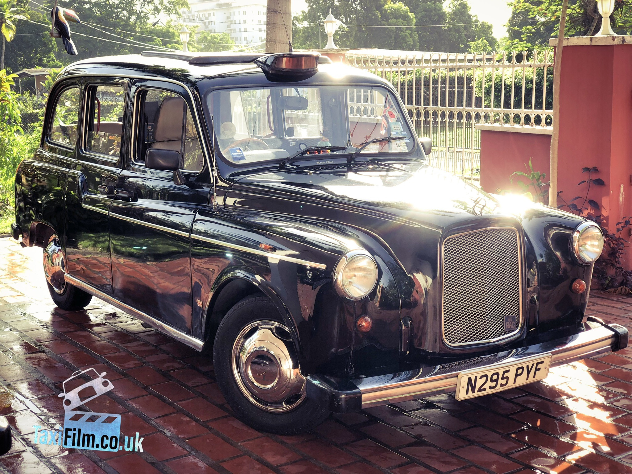 Black Fairway Taxi 1996, Panama ref PAN003
