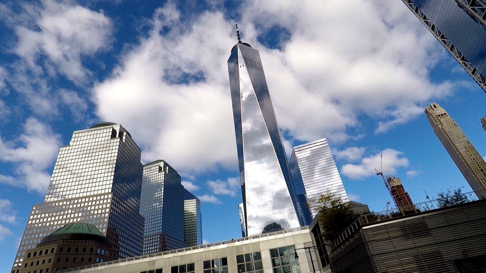 One World Trade Center (1 WTC) - Freedom Tower - erbaut in den Jahren von 2006 bis 2014