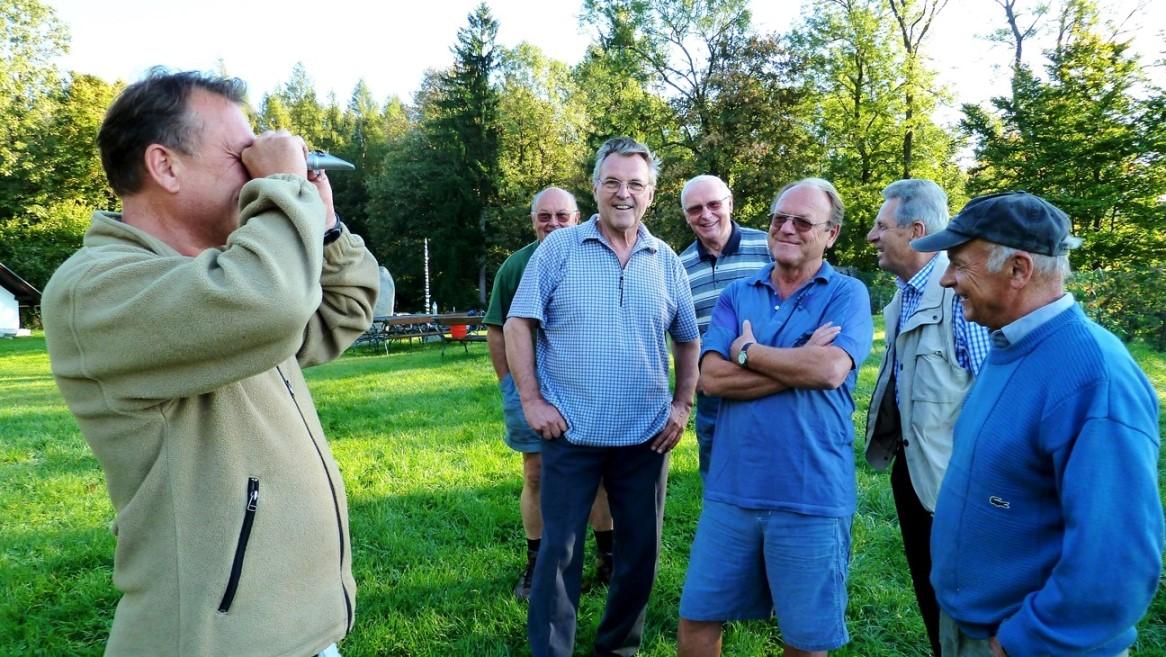 Erntebeginn - Wieviel Zuckergrade hat der Wein? - 3. Oktober 2011