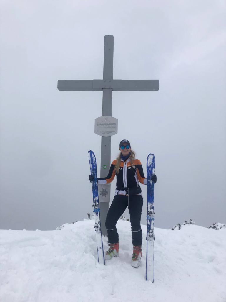 Auf dem Gipfel  1.717 m