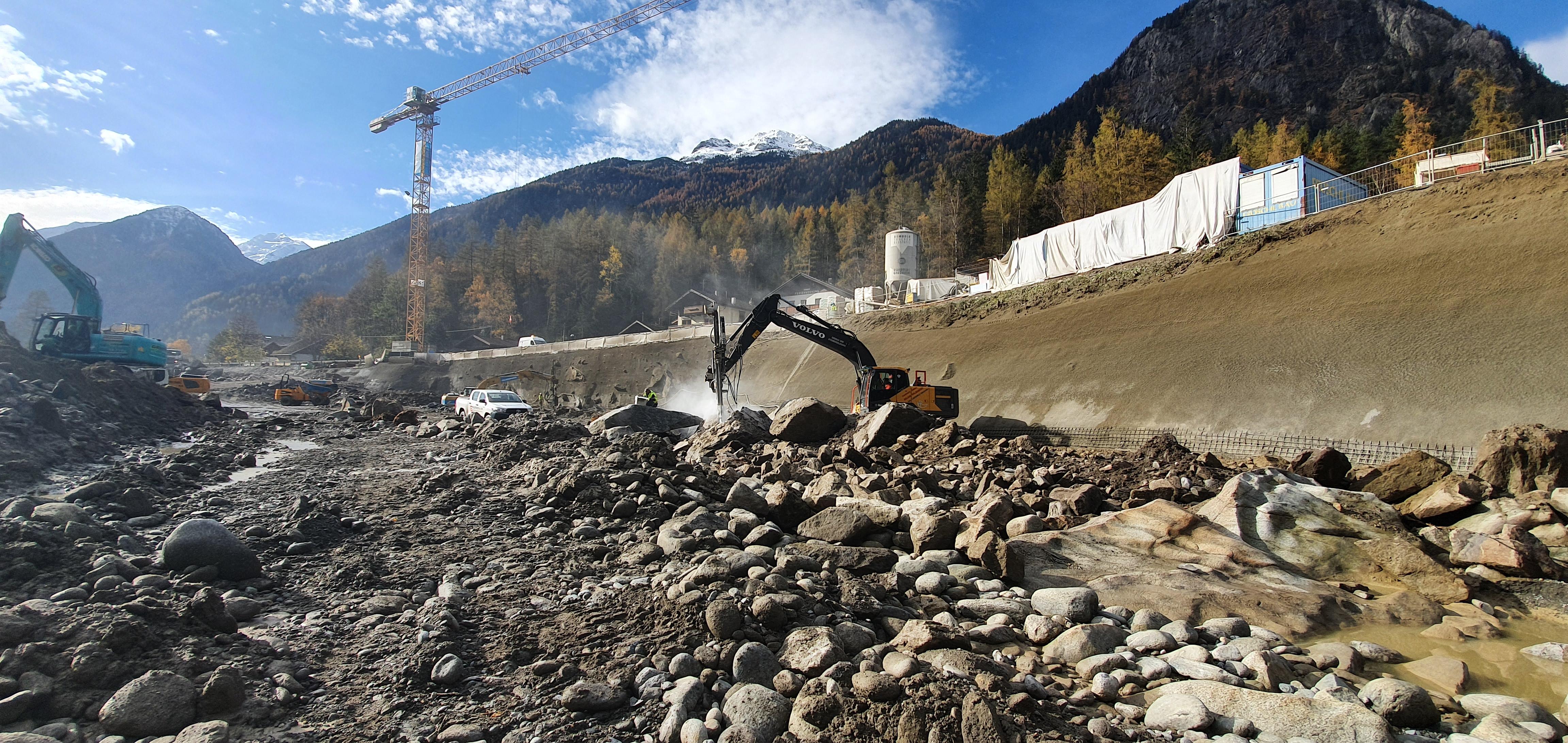 Wasserkraftanlage Bezirk Imst
