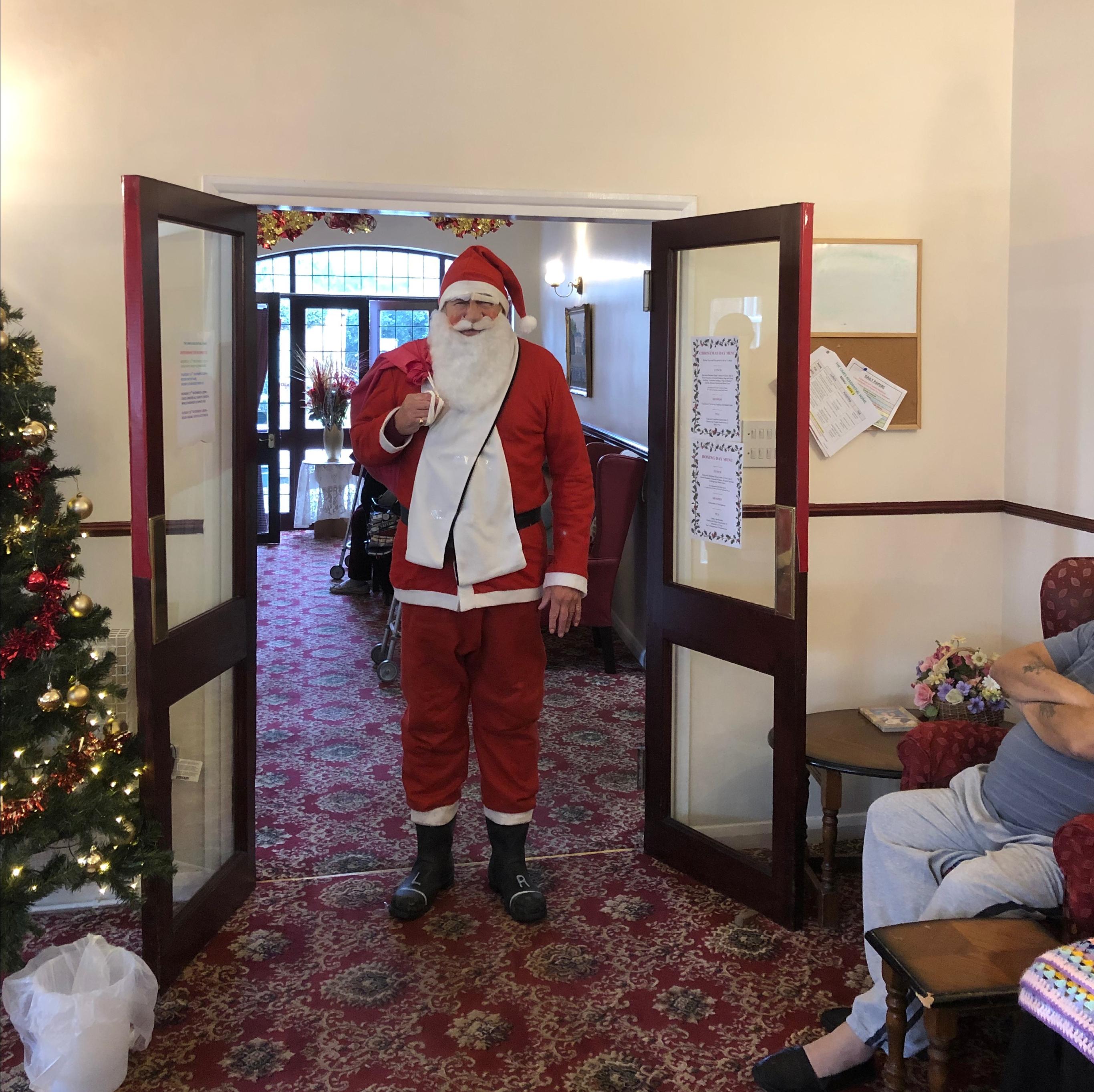 Santa Came To Visit!