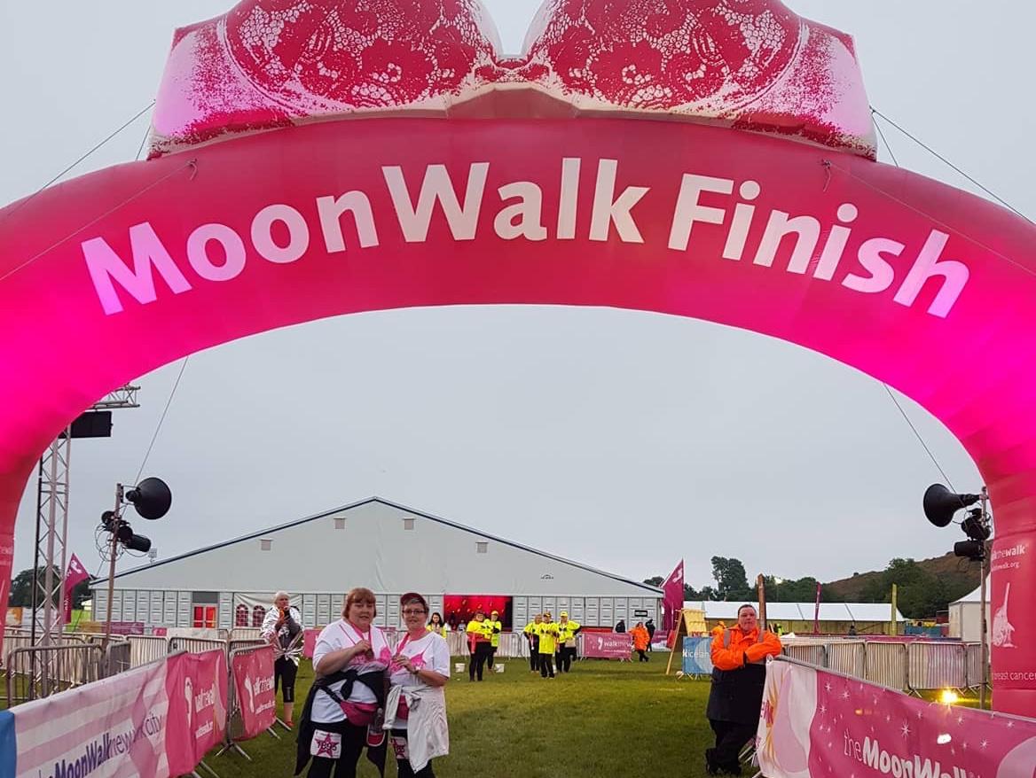 Walk The Walk - Breast Cancer - June 2018